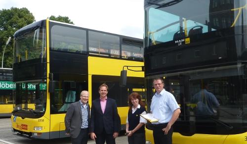 Pünktlichkeit und Zuverlässigkeit der BVG-Busse verbessert