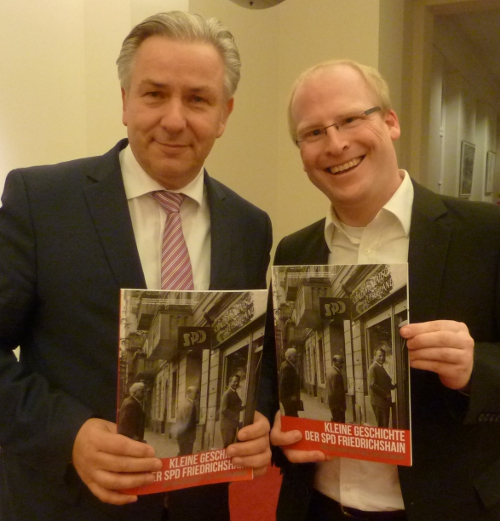 Kleine Geschichte der SPD Friedrichshain erschienen