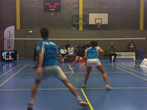 Besuch beim Badminton-Bundesligisten