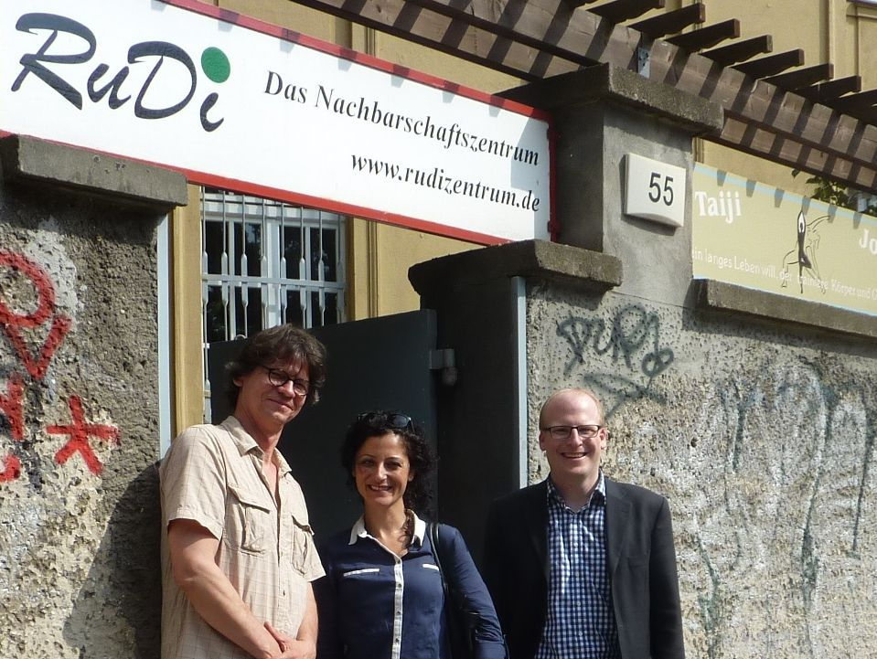 Nachbarschaftszentrum RuDi bietet 33 Initiativen Raum