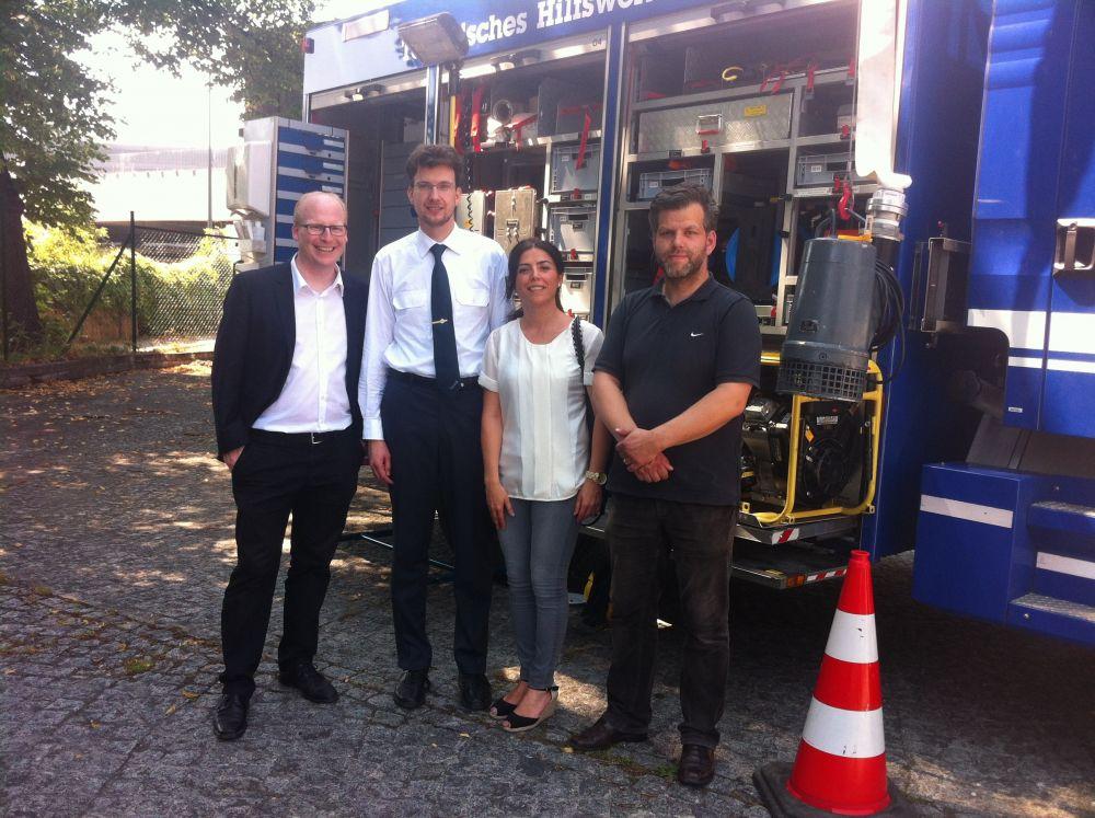 Das THW Friedrichshain-Kreuzberg wird 20 Jahre alt – Ein Besuch