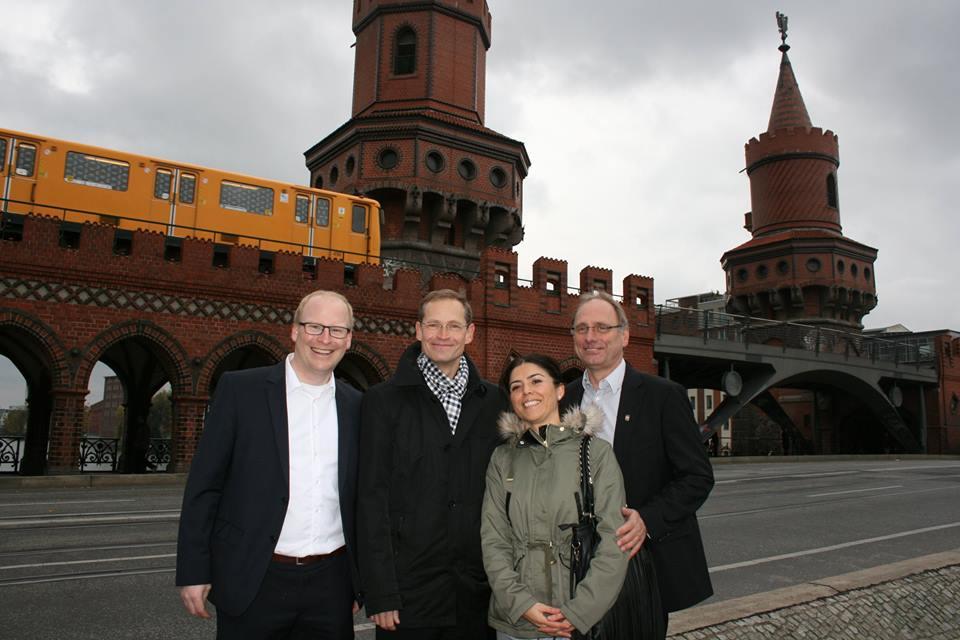120 Jahre Oberbaumbrücke und 20 Jahre Wiederherstellung