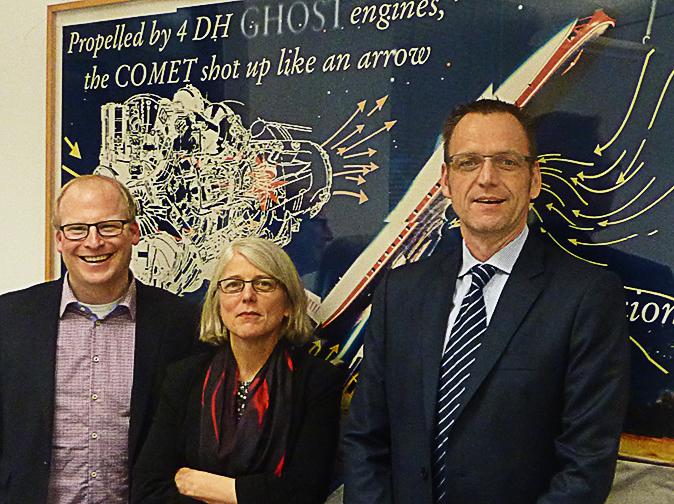 Pace Aerospace aus Friedrichshain verleiht dem Luftverkehr Flügel