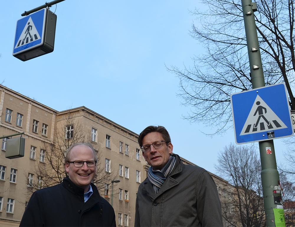 Straßenbeleuchtung in der Neuen Bahnhofstraße funktioniert wieder
