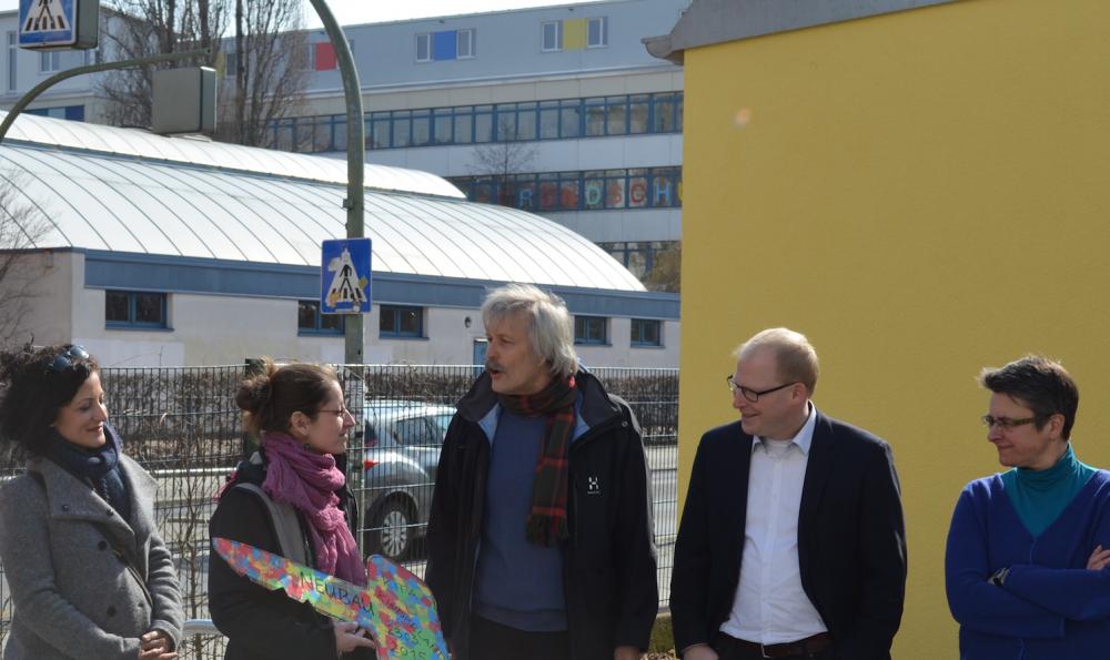 """Erweiterung der KiTa """"Kinderland"""" in der Simplonstraße eingeweiht"""