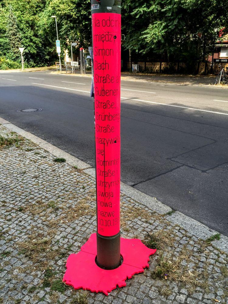 Zielona Góra in Berlin - Kunstprojekt erinnert an deutsch-polnische Geschichte