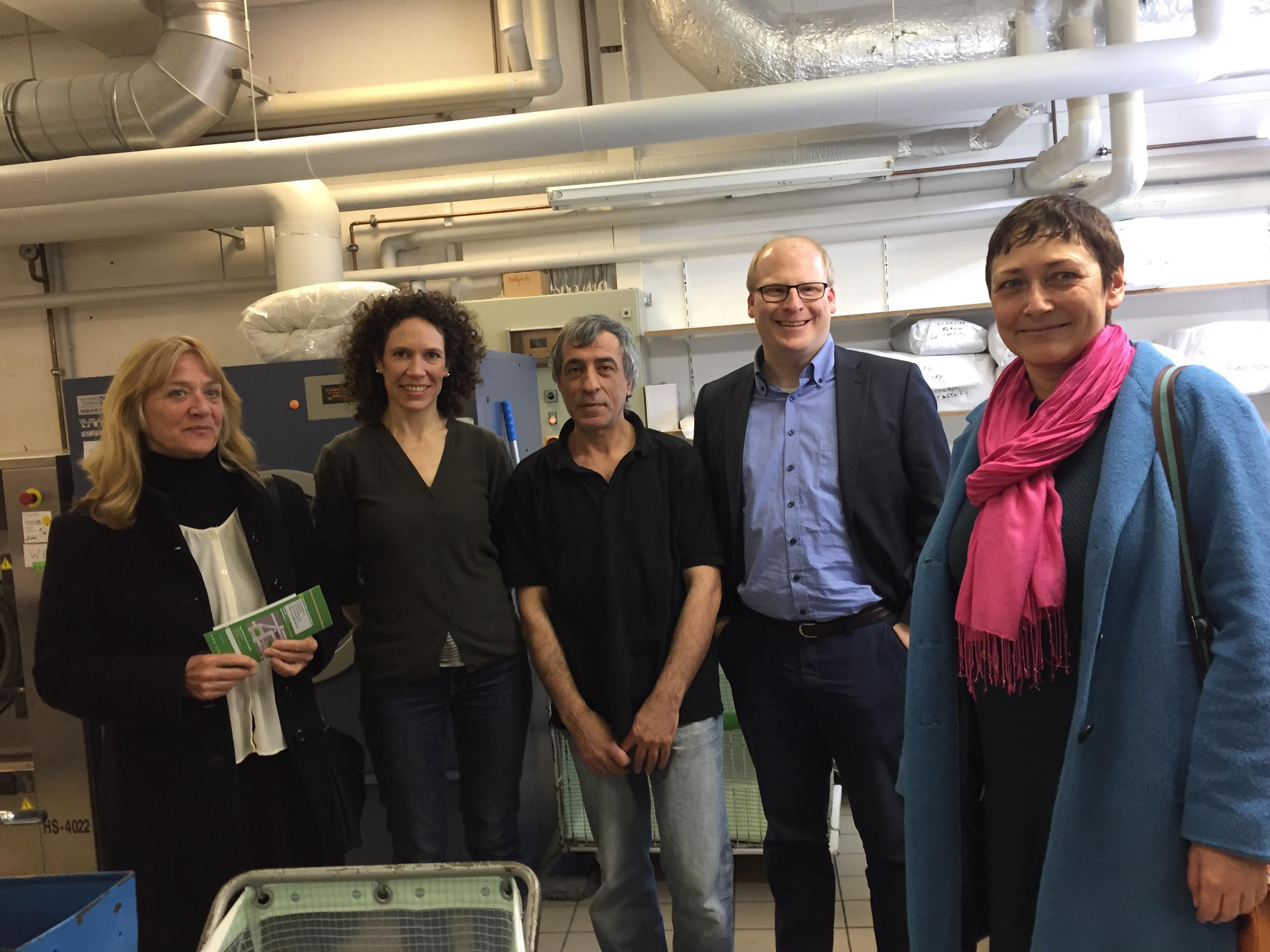 Inklusionsbetriebe in Kreuzberg besucht