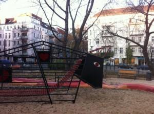Neuer Spielplatz im Kiez eröffnet
