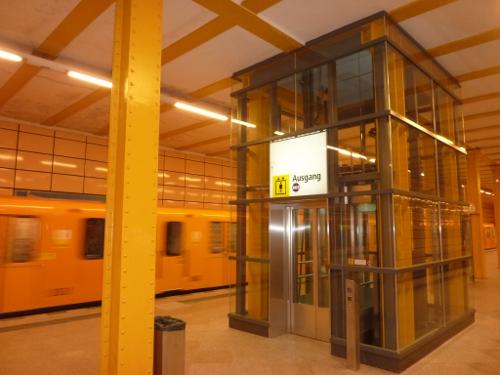 U-Bahnhof Weberwiese barrierefrei