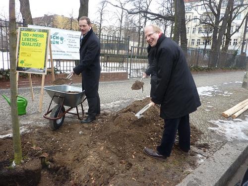 Stadtbaumkampagne in Friedrichshain gestartet