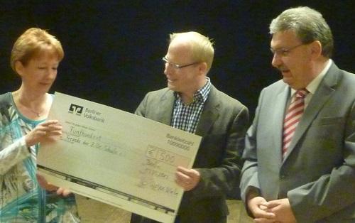 Freude der Zille-Schule gewinnen Engagement-Preis