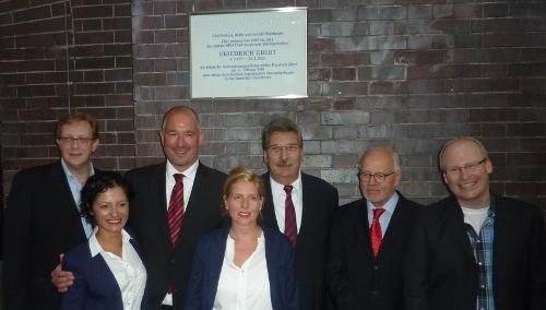 Friedrich Ebert zurück in Friedrichshain