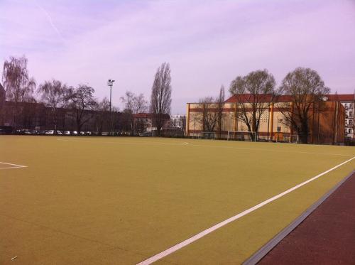 Kurt-Ritter-Sportplatz erhält neuen Kunstrasen