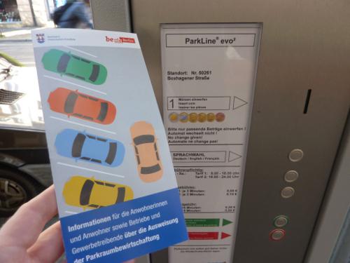 Parkraumbewirtschaftung gestartet