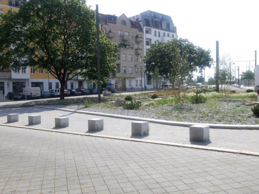 Neugestaltung des Helsingforser Platzes und der südlichen Marchlewskistraße abgeschlossen