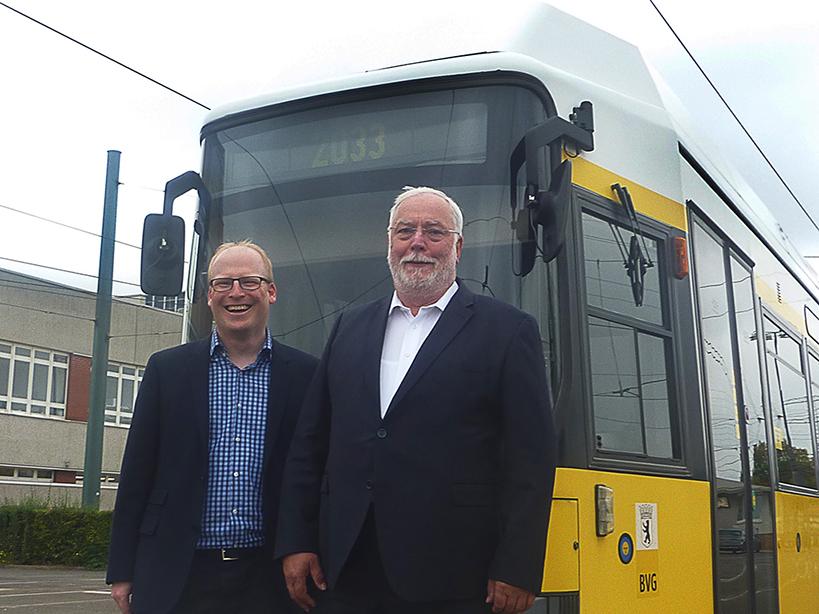 Besuch bei der BVG auf dem Tram-Betriebshof Lichtenberg
