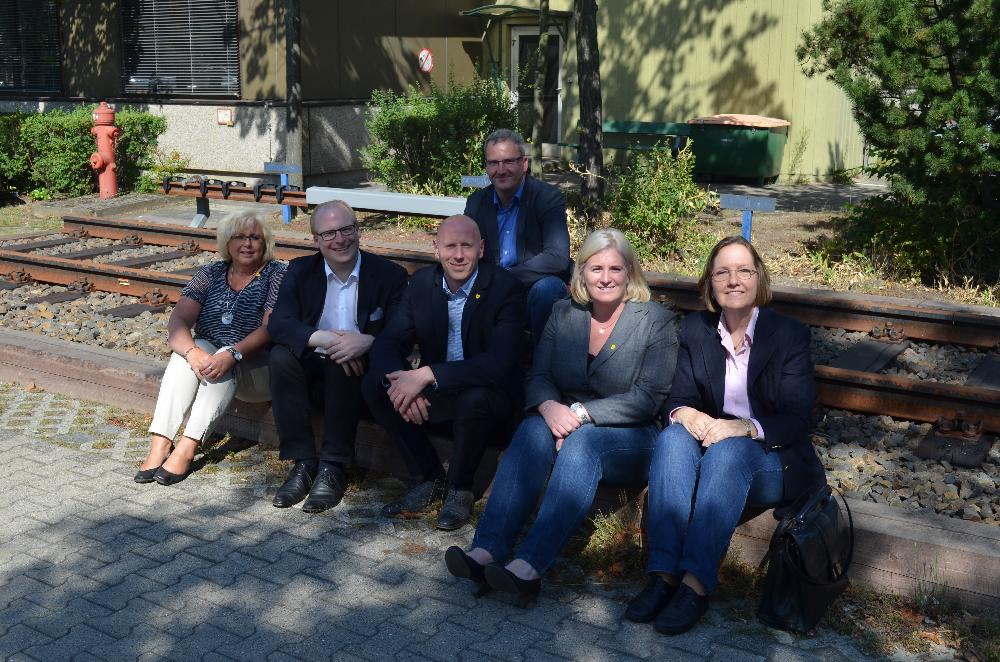 BVG-Besuch 2015: Ausbildung bei der BVG, Betrieb und Geschichte der U-Bahn