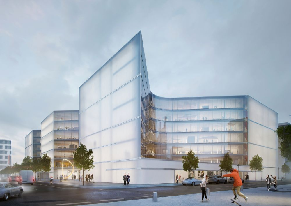 Zalando stellt Campus-Pläne vor