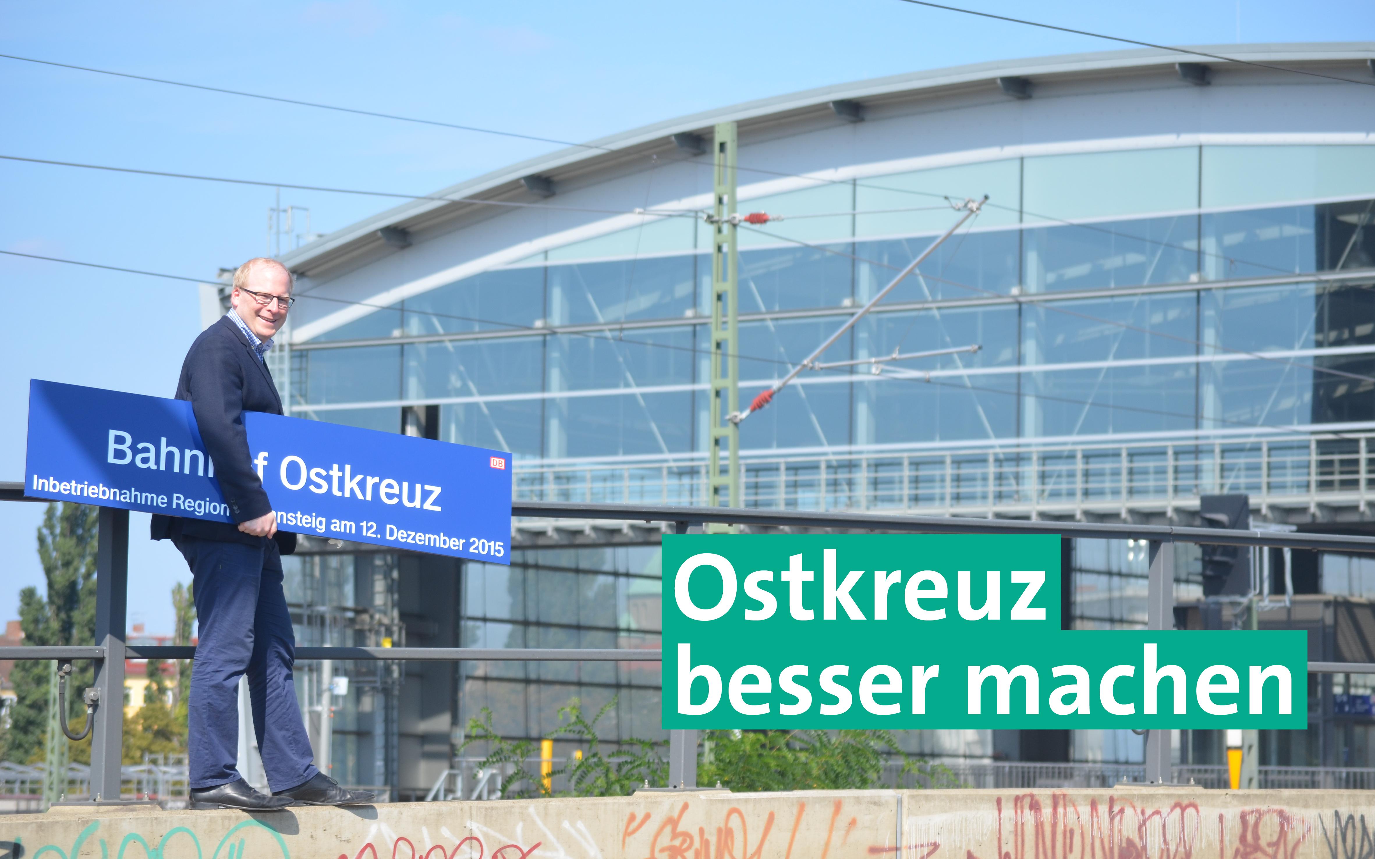 Weitere Infrastrukturen am Ostkreuz nötig