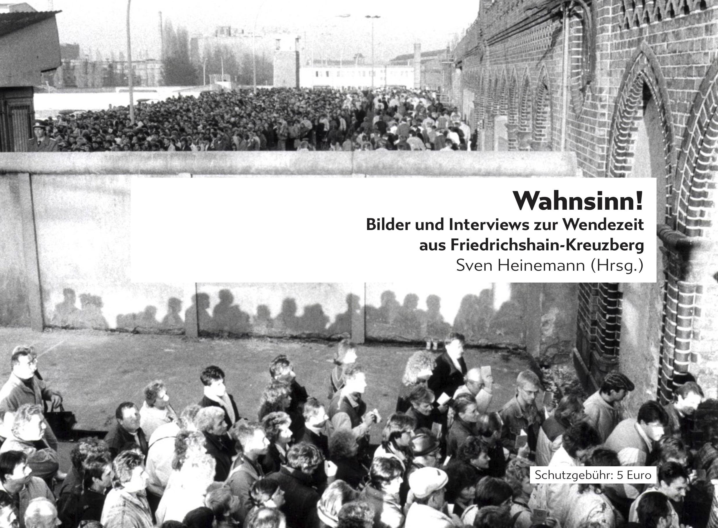 Buchveröffentlichung: 30 Jahre Mauerfall